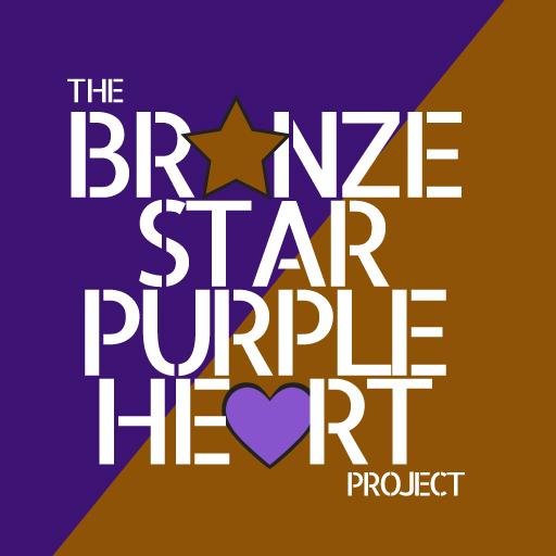The Bronze Star Purple Heart Project Logo